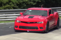 Is GM Testing Specialty Camaros In Plain Site At Nurburgring?