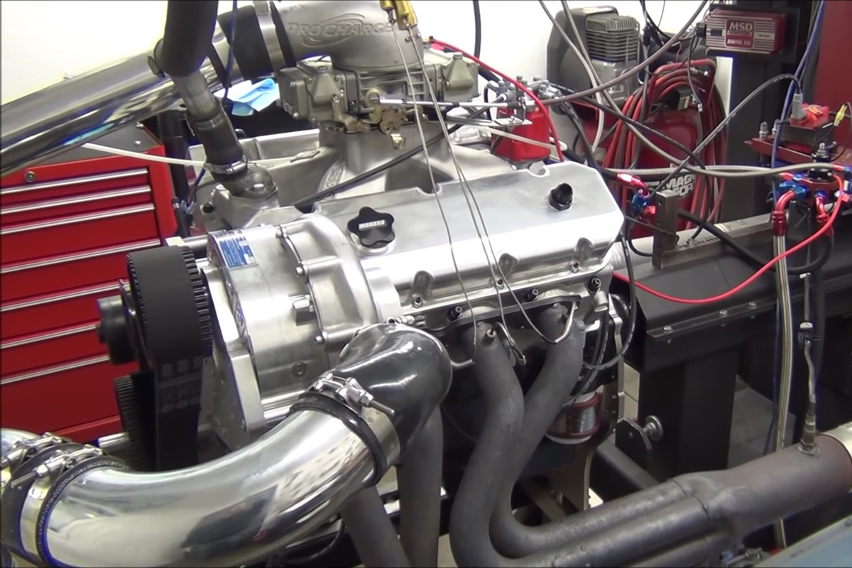 Video: CNC-Motorsports Builds ProCharged BBC And Crushes The Dyno