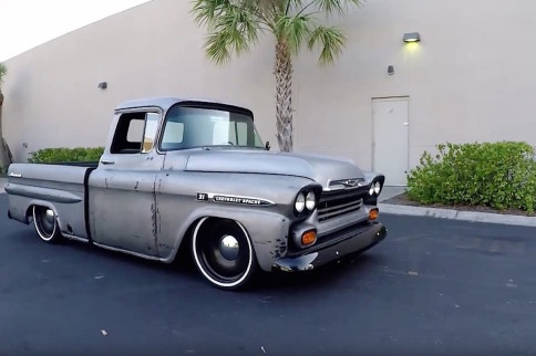 Video: This LS Swapped '59 Apache Makes One Badass Restomod