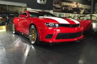 Video: Big Red Camaro Tribute Z/28 Rolls on Custom Forgeline Wheels