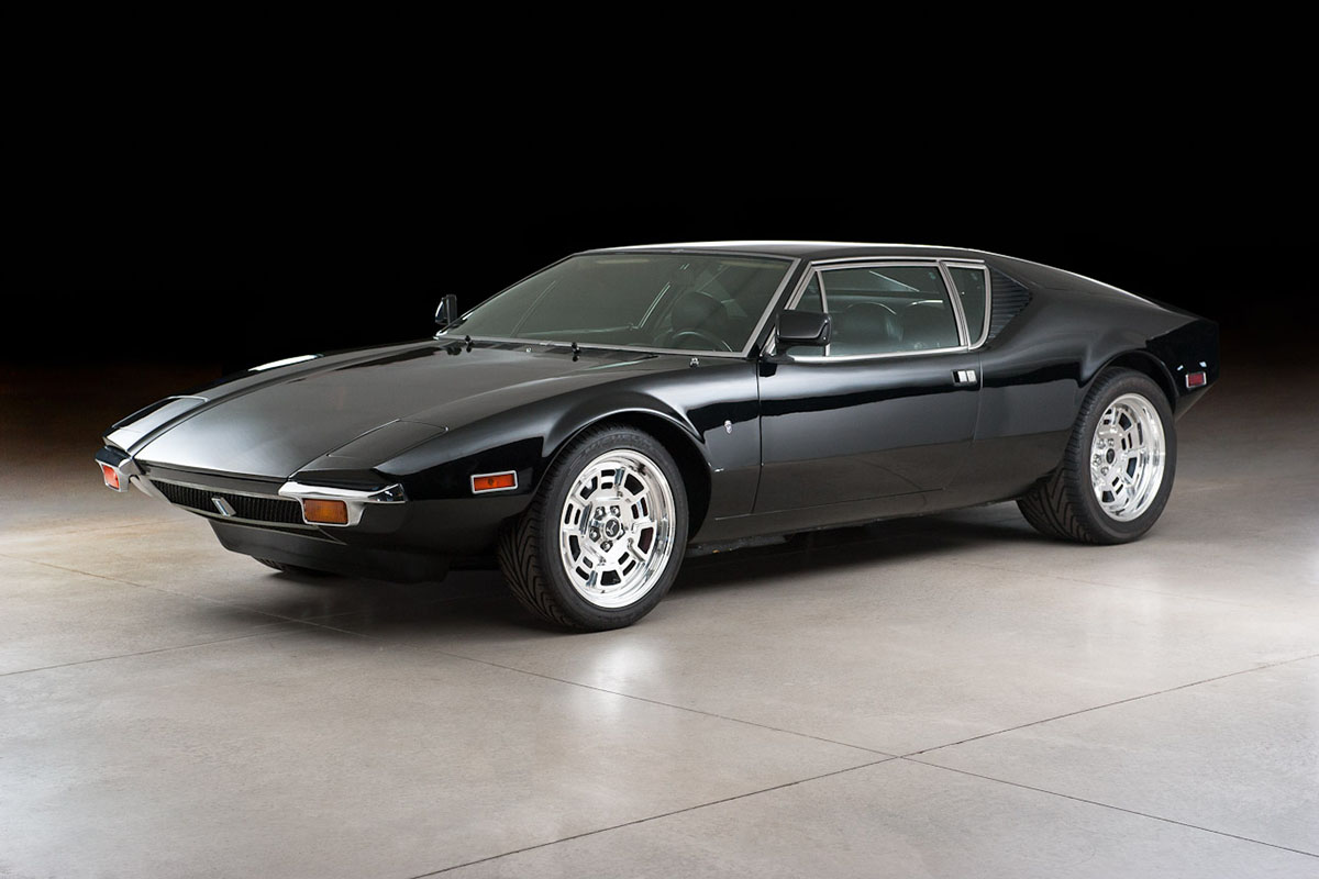 musclecars you should know de tomaso pantera. Black Bedroom Furniture Sets. Home Design Ideas