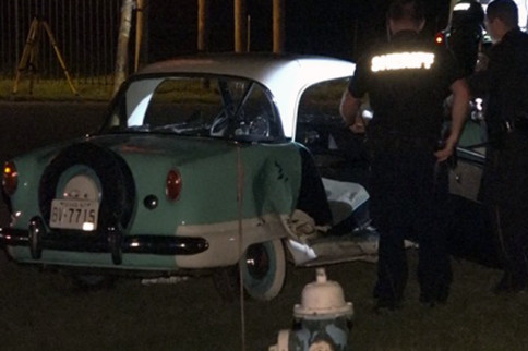 Deadly Crash in a Classic Nash