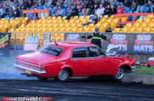 Brasher Nats Burnout Mishaps: Kissing The Wall A Little Too Hard