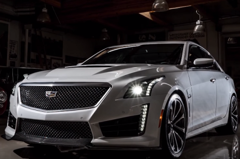 Video: Jay Leno Cruises Around In The New Cadillac CTS-V