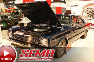 SEMA 2015: Twin-Turbo Hemi Belvedere Is A Turbonetics Masterpiece