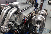 First Look: Steve Morris Develops All-New Quad-Turbo V-16 Engine