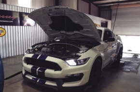 Video: Hennessey Straps Stock Shelby GT350 To Its Dyno