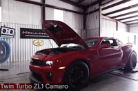 Video: HPE1200 Twin Turbo ZL1 Camaro On The Dyno
