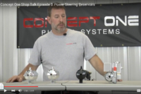 Video: Concept One Talks Power Steering Reservoirs