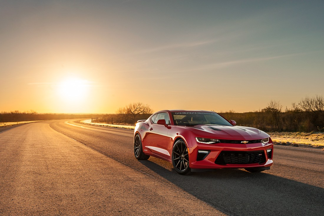 Video: Hennessy 2016 Camaro SS Goes 202 mph in Testing