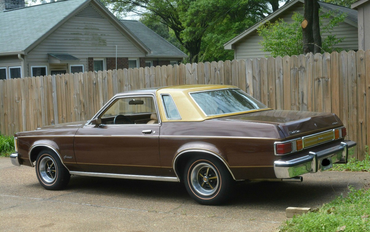 Ebay Find 1976 Granada Four Speed Sport Coupe Sleeper