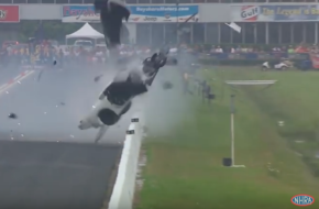 Video: Sidnei Frigo Wipes Out Hard In Pro Mod C7 Corvette