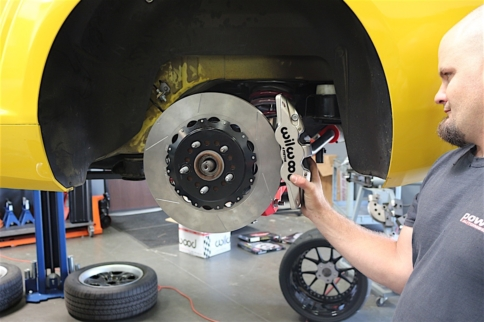 Wilwood Aerolite Brake Install on our Project 5th Gen Camaro