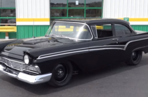 Video: Supercharged Moonshine Runner Inspired '57 Ford Is 700 Proof