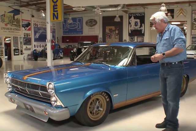 Video: Leno Visits With A 650 Horsepower Fairlane Restomod