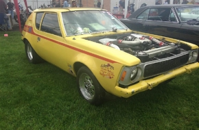 Junkyard AMC Gremlin Gears Up To Run Into The 7's
