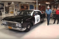 Video: Leno Plays Officer In 1961 Dodge Polara Police Car