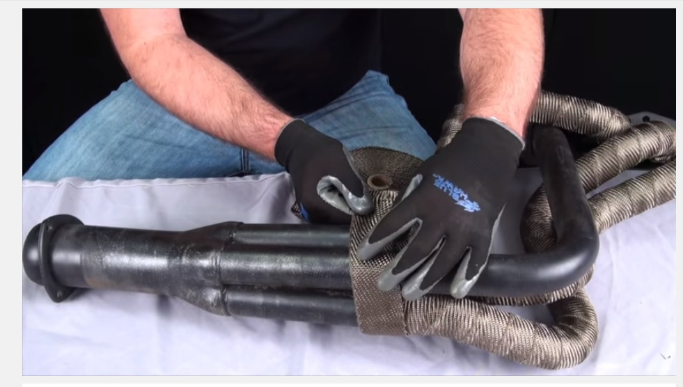 Keeping Things Cool With Design Engineering's Titanium Exhaust Wrap