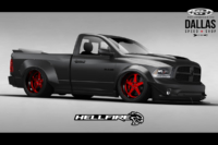 Get Ready For Hellfire: Dallas Speed Shop's SEMA RAM Truck Concept