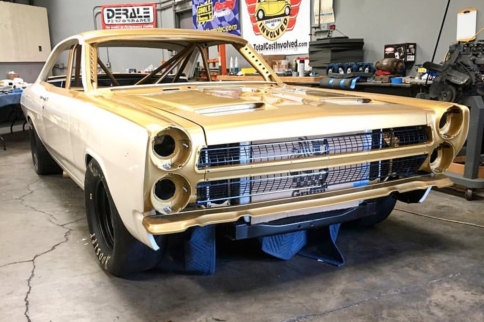 Video: Derale Steps Up Its Game With 1966 Cyclone GT SEMA Build