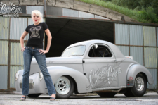 Street Feature: Micha Vogt Races A 1941 Willys In Germany
