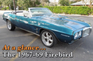 At A Glance: How To Spot Differences In First Gen Firebird - 1967-69