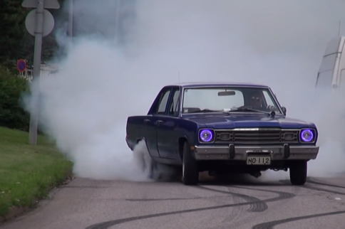 Video: Live Vicariously Through Musclecar Burnouts In Finland