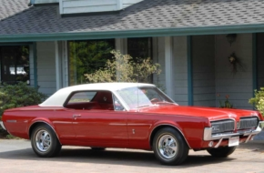The First Mercury Cougar Ever Rolls Out For Its 50th Birthday