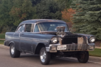 Home-Built Hero: A Bullet-Riddled 1956 Chevy Bel Air