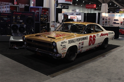 SEMA 2016: Derale Blows The Crowd Away With A 1966 Cyclone GT Build