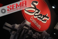 SEMA 2016: 100 Years Of Ford Crankshafts With SCAT
