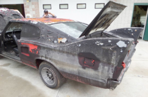 Crispy 1966 Charger Needs A Lot Of Love