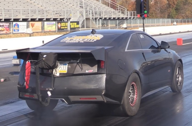 Video: Jerry Groves' Wicked Seven Second CTS-V Street Car