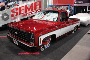 SEMA 2016: Finish Line Speed Shop And Covercraft Help Strike Out ALS