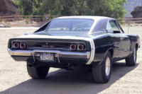 Street Feature: An Old School, Straight Lined, 1968 Charger