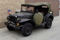 Vintage Military Vehicles: The Dodge WC56 Command Car