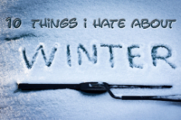 10 Things I Hate About Winter: A Musclecar Owner's View