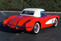 Barrett-Jackson Scottsdale 2017: 1958 Corvette Brings $111,100