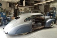 What Are You Working On? James Williams' 1940 Lincoln Zephyr