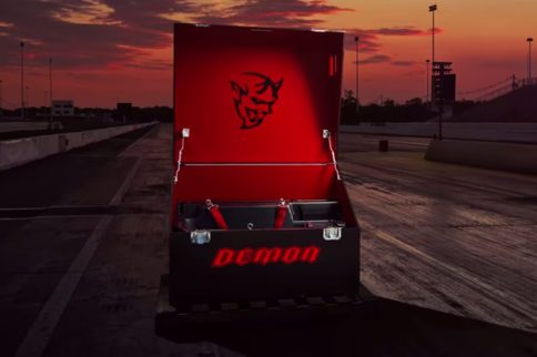 "Video: Dodge Drops Latest Challenger SRT Demon Series With ""Crate"""
