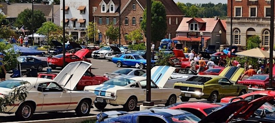 Mustang Alley At Somernites Cruise Attracts More Than 800 Fords