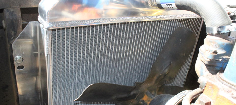 Project Geronimo Keeps His Cool With A Champion Radiator