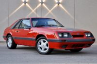 Low-Mileage '86 Fox Mustang Up For Auction On Bring A Trailer