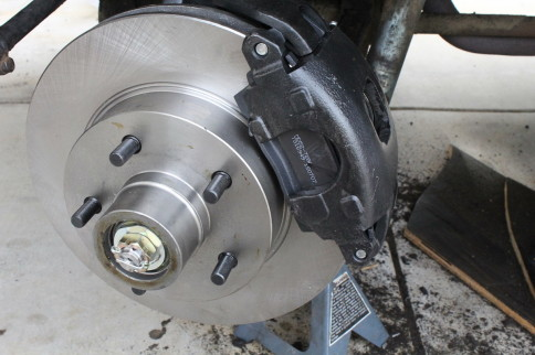 Project Geronimo: Stop Right There With Front Disc Brake Conversion