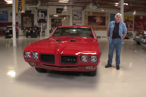 Here Come The Judge: Jay Leno's Garage - 1970 Pontiac GTO Judge