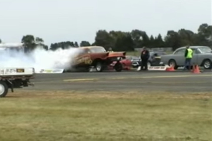 Video: Nostalgia Drags At Ballarat Airport
