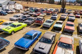 Video: For Sale - More Than 340 Classic Cars And 5 Acres Of Land