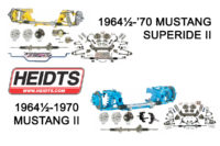 Heidts Rolls Out Two New IFS Kits For 1964-1970 Mustang