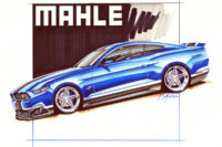MAHLE Ford Mustang Build Begins At Petty's Garage