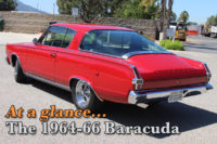 At A Glance: How To Spot Differences In 1964-1966 Barracuda